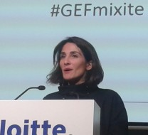 Flora Bernard, présidente de Thaé ( Auditorium Deloitte, 2 mars 2014)